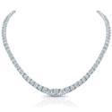 Royal Asscher Necklace